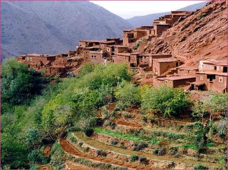 Full day excursion to Ourika valley and Atlas Mountains