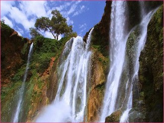 Full day trip to the Ouzoud waterfall